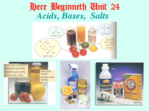 Acids And Bases In The Home Kitchen